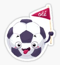 Football Face Sticker