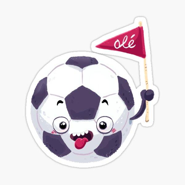 Football Face Sticker