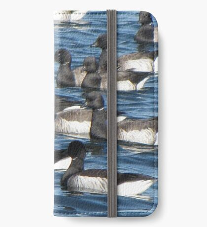 Convoy of Brant geese iPhone Wallet