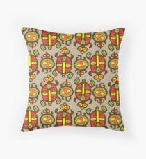 Fabulous Turtles Throw Pillow