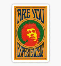 Experienced? Sticker