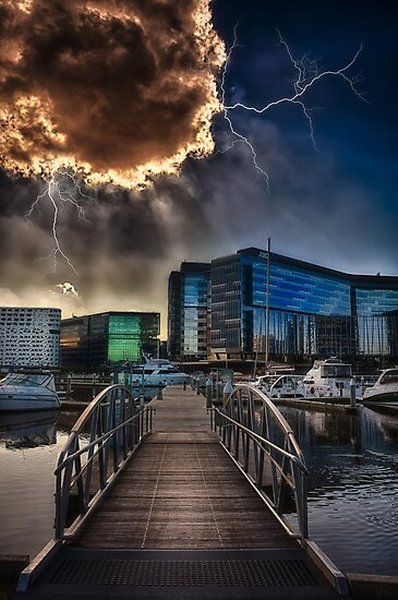 Docklands  by mellosphoto