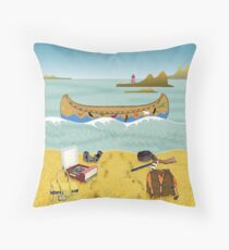 Pillow - Canoe to Moonrise Kingdom Throw Pillow