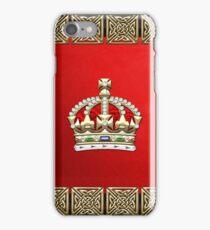 British Imperial Crown - Tudor Crown iPhone Case/Skin