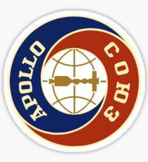APOLLO-SOYUZ SPACE MISSION Sticker