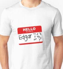 Achievement Hunter hello my name is edgar T-Shirt
