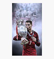 Portugal Euro 2016 Winners Photographic Print