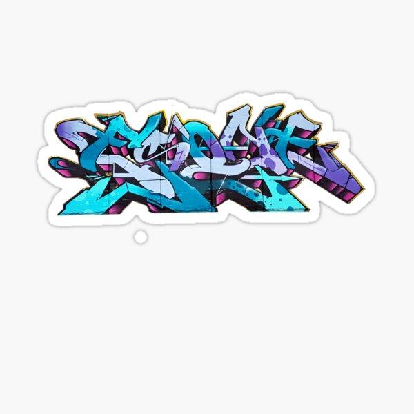 PURPLE ESONE URBAN GRAFFITI STREET STYLE  Sticker