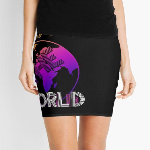 Heal The World  Mini Skirt