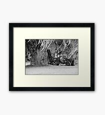 Abandone Equipment Framed Print