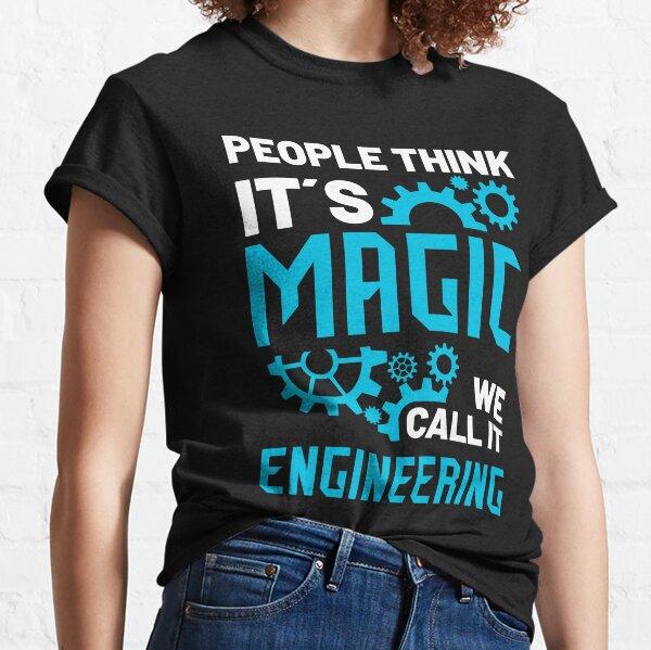 Engineering Engineer Engineer Major Student  Classic T-Shirt