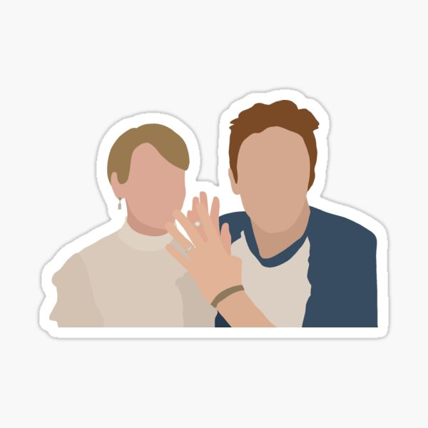 Audrey and Rory Sticker