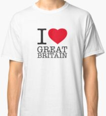 I ♥ GREAT BRITAIN Classic T-Shirt