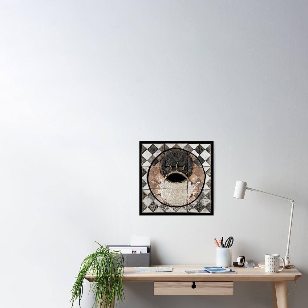 Hatha: union of sun moon Poster