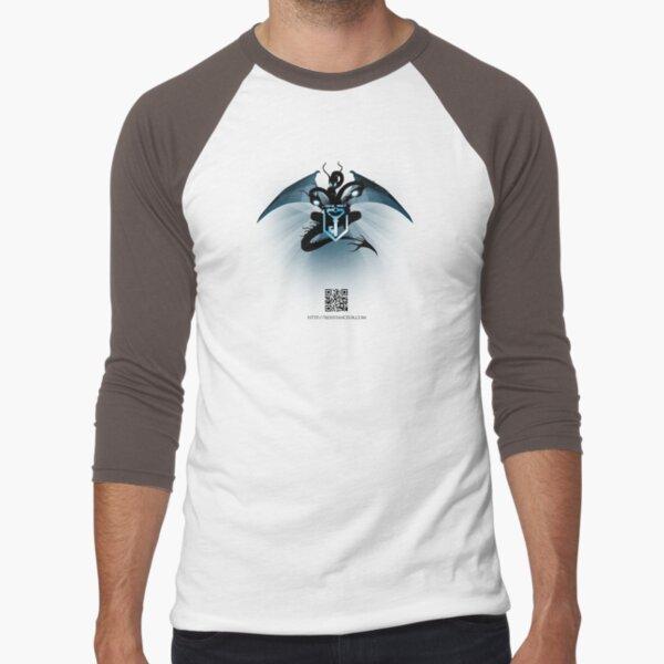 Ingress : Resistance UK Dragon Baseball ¾ Sleeve T-Shirt