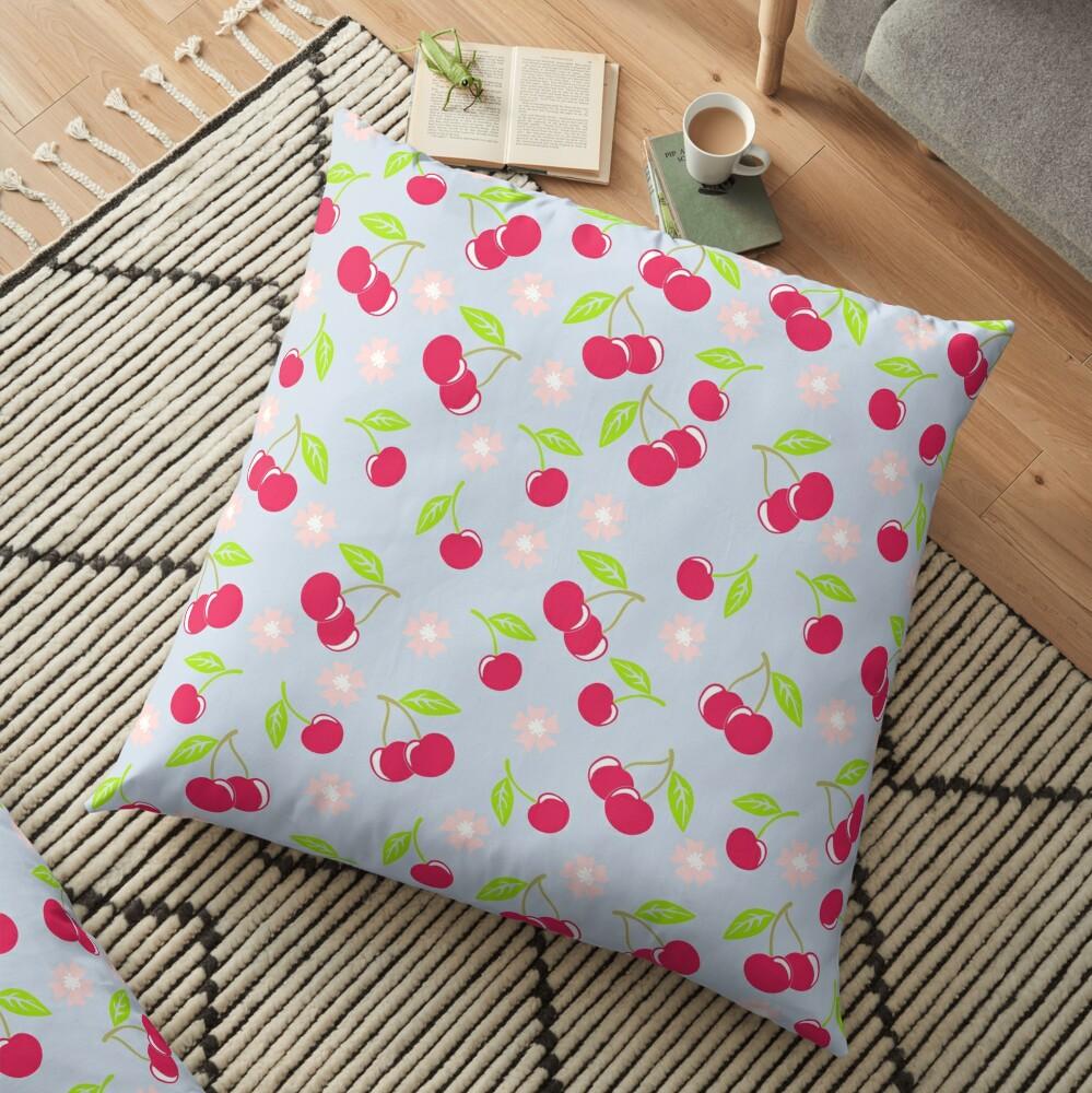 Cherry Pop Floor Pillow