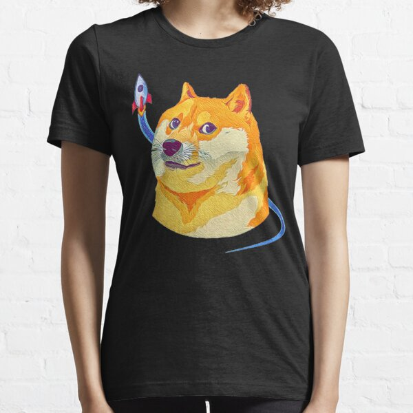 Dogecoin To The Moon Essential T-Shirt