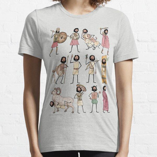 Greek Myth Comix - ODYSSEUS all the scenes! Essential T-Shirt