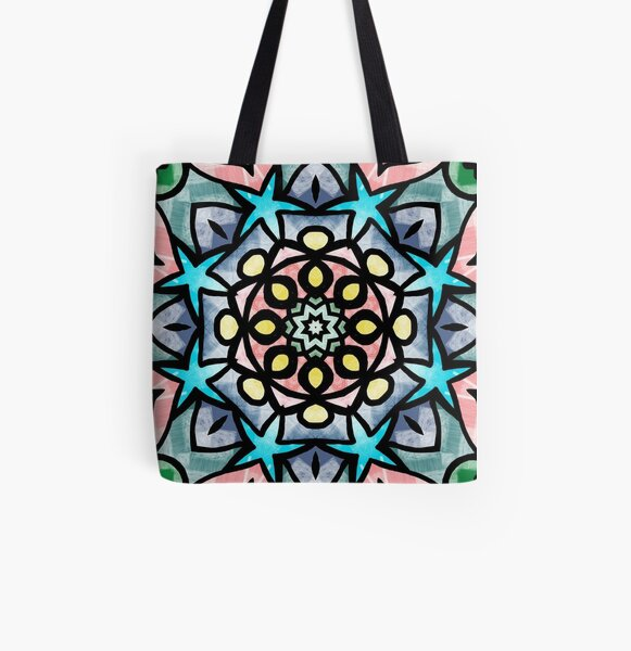 Star Seeds All Over Print Tote Bag