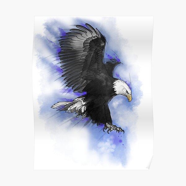 aigle américain Poster