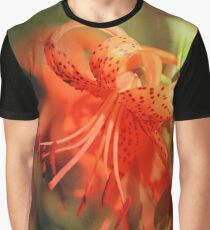 Fiery Lily Reflections Graphic T-Shirt