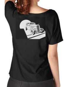 1934 Ford Tudor Sedan Hotrod - Inked Women's Relaxed Fit T-Shirt