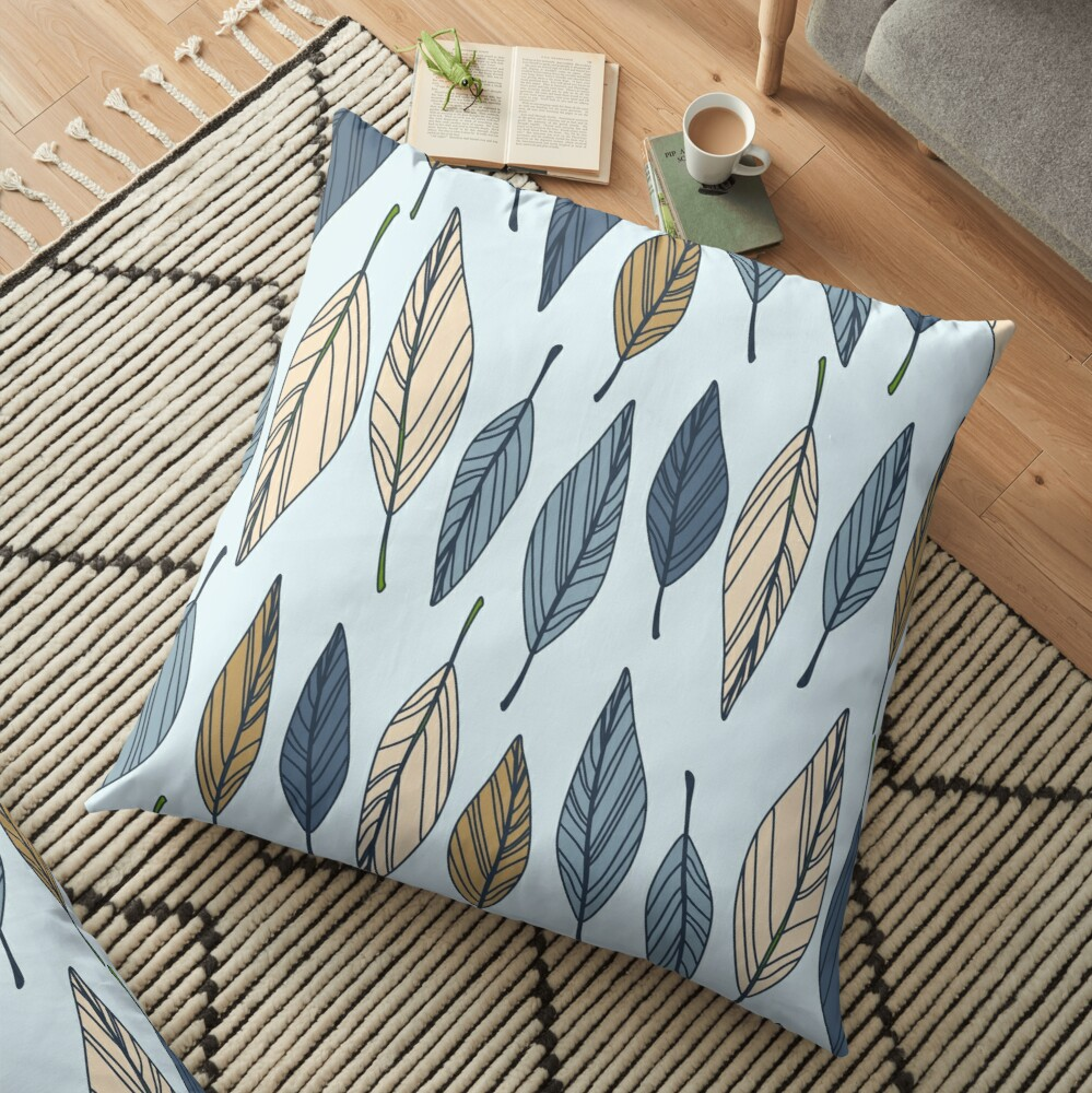 Summer Chill Floor Pillow