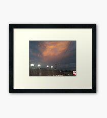 Holy cloud Framed Print