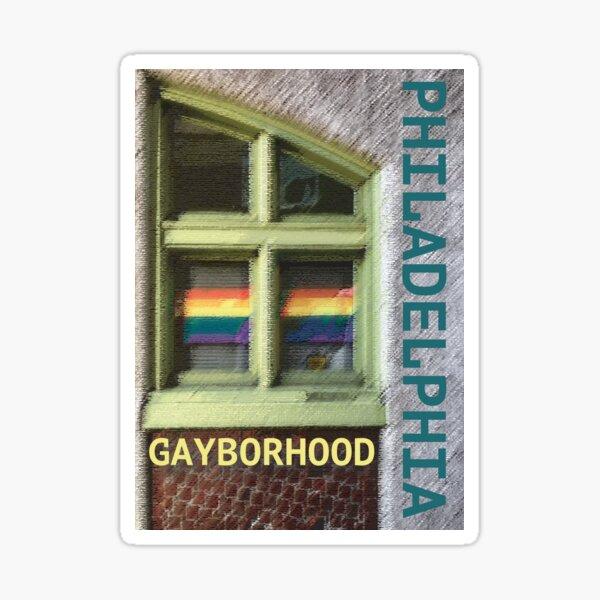 Gayborhood Window Sticker