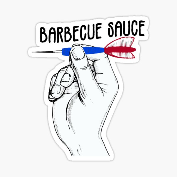 Barbecue Sauce - Bullseye Sticker