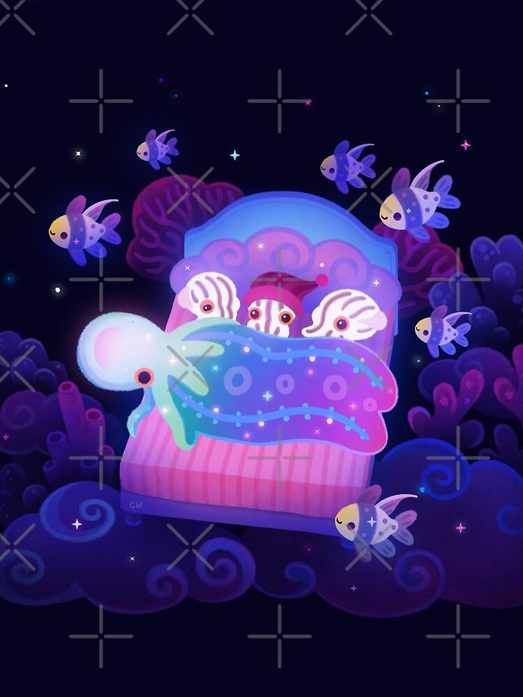 Blanket octopus by pikaole