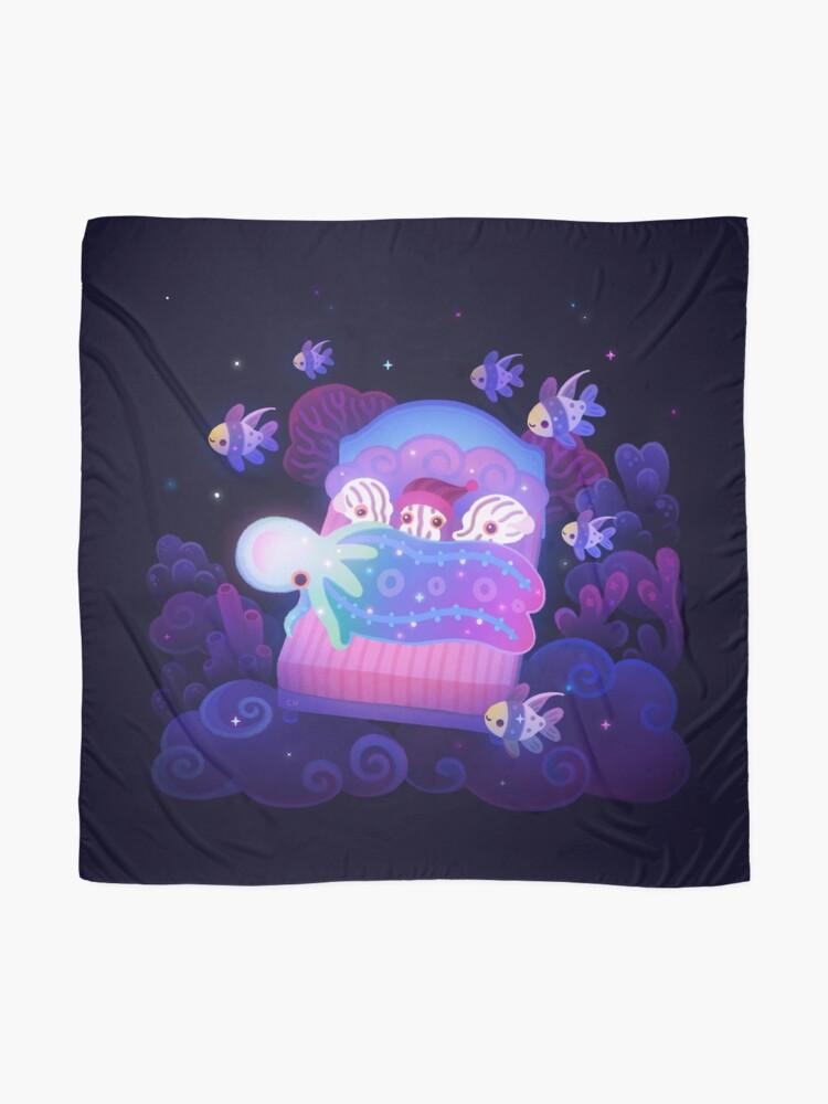 Alternate view of Blanket octopus Scarf