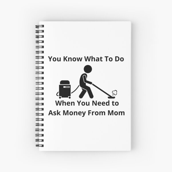 Cleaning Humor Spiral Notebook