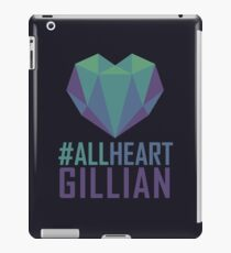 #AllHeartGillian - Blue iPad Case/Skin