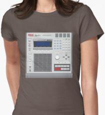 AKAI MPC 3000 Womens Fitted T-Shirt