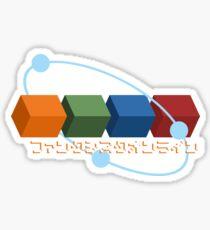 Phantasy Star Online Drops Sticker