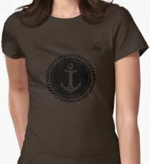 Boating Anchor t-shirt - East Peak Apparel Womens Fitted T-Shirt