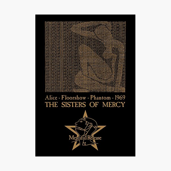 Alice - The Sisters of Mercy Photographic Print