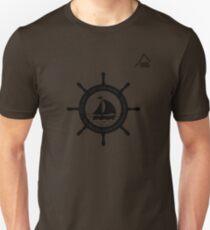 Boating t-shirt wheel - East Peak Apparel Unisex T-Shirt