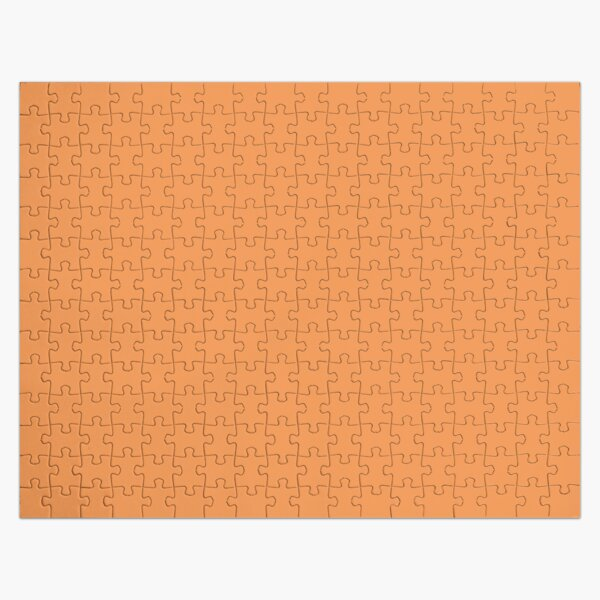 Faded Orange (solid color)  Jigsaw Puzzle
