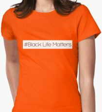 black life matters Womens Fitted T-Shirt