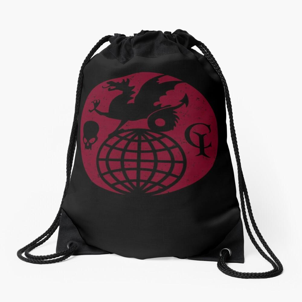 The Guild of Calamitous Intent logo — The Venture Bros. Drawstring Bag