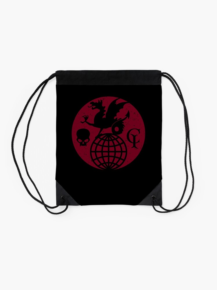 Alternate view of The Guild of Calamitous Intent logo — The Venture Bros. Drawstring Bag