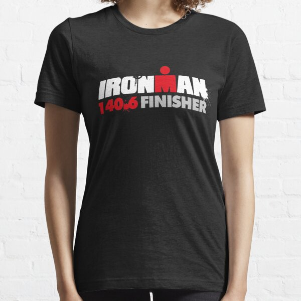 Ironman triathlon finisher, swim bike run 140.6 Essential T-Shirt