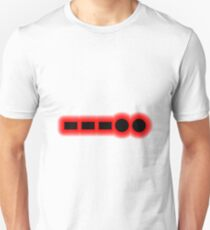 Morse Code Number 8 T-Shirt