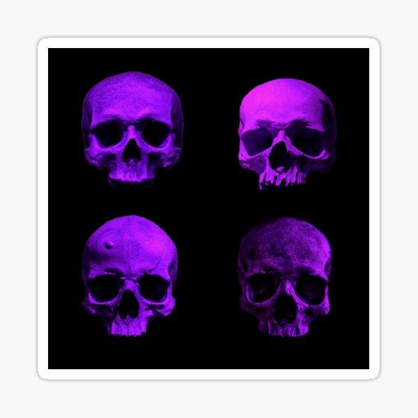 Skull quartet Sticker