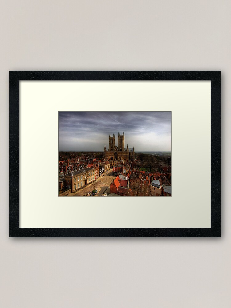 Alternate view of Lincoln Cathedral Framed Art Print