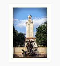 The University of Texas Tower Art Print