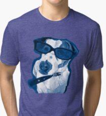 Rocking Jack Russell Tri-blend T-Shirt