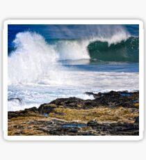 Yachats Oregon - Ocean Spray Sticker